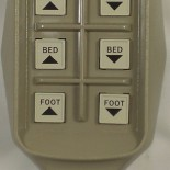 Bed remote 6 button