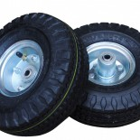 Pnuematic Wheels and Foam Filled Wheels