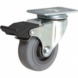 Rubbermaid Replacement Caster with Total lock Brake