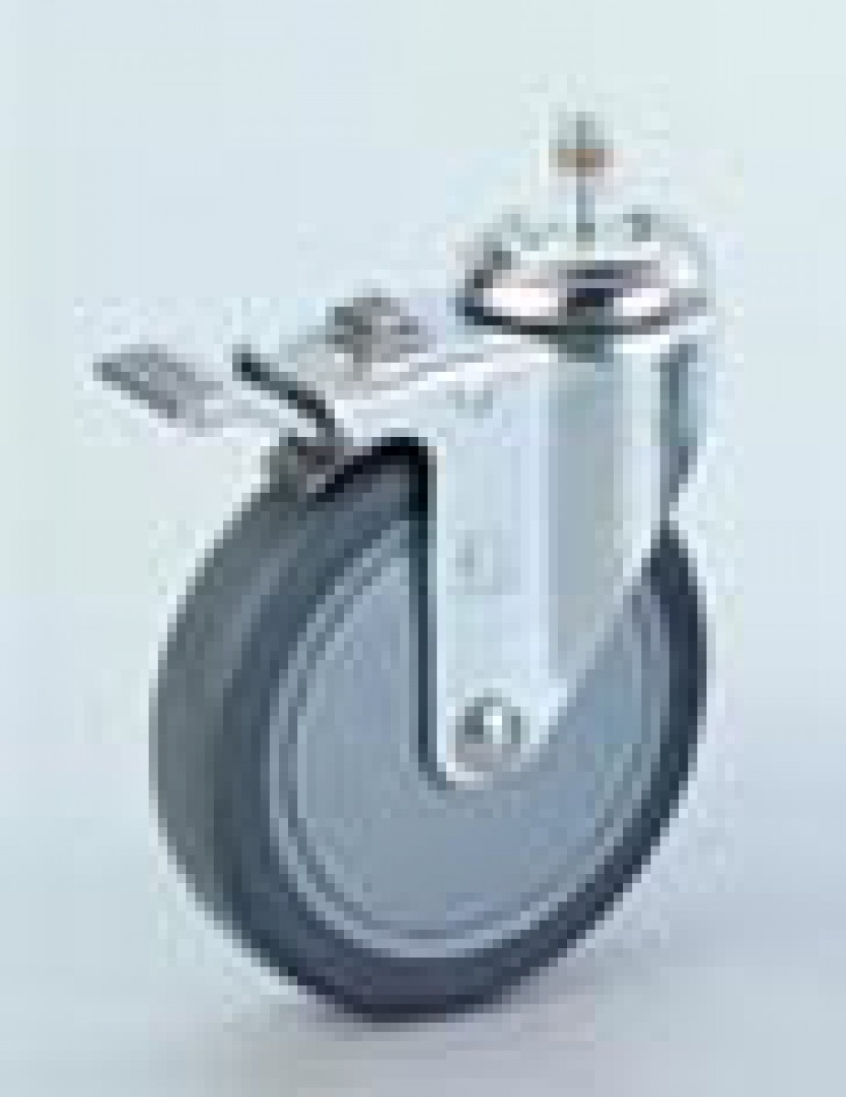 shower chair caster with total lock - Chair Casters