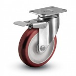 Stainless Steel Caster with Total Lock Brake