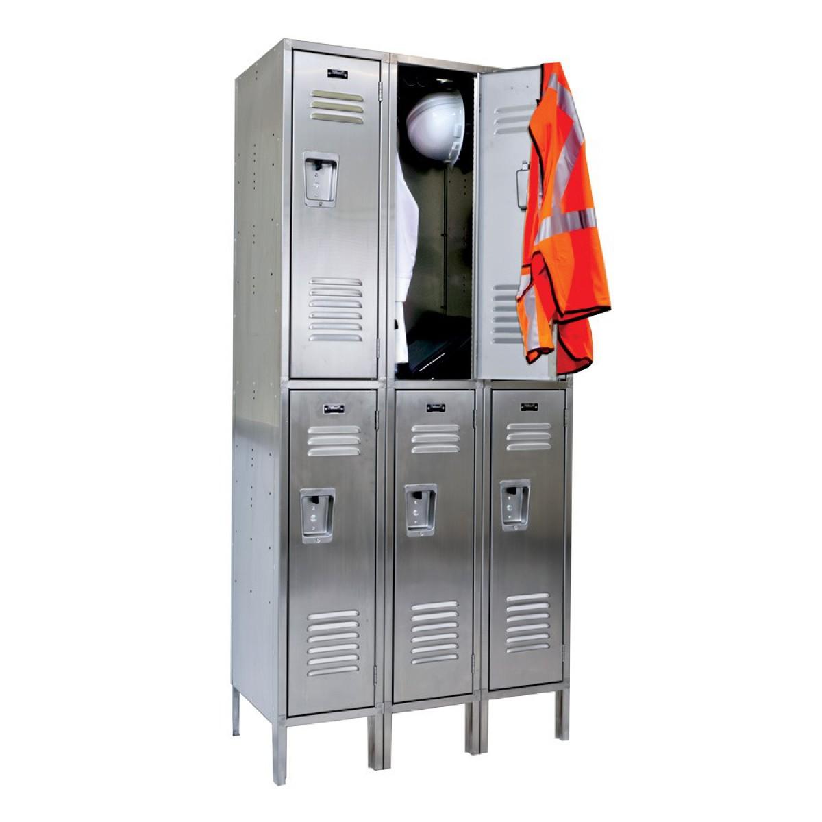 3x3 steel lockers