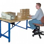 Adjustable Height Work Station Table Low