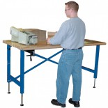 Adjustable Height Work Station Table