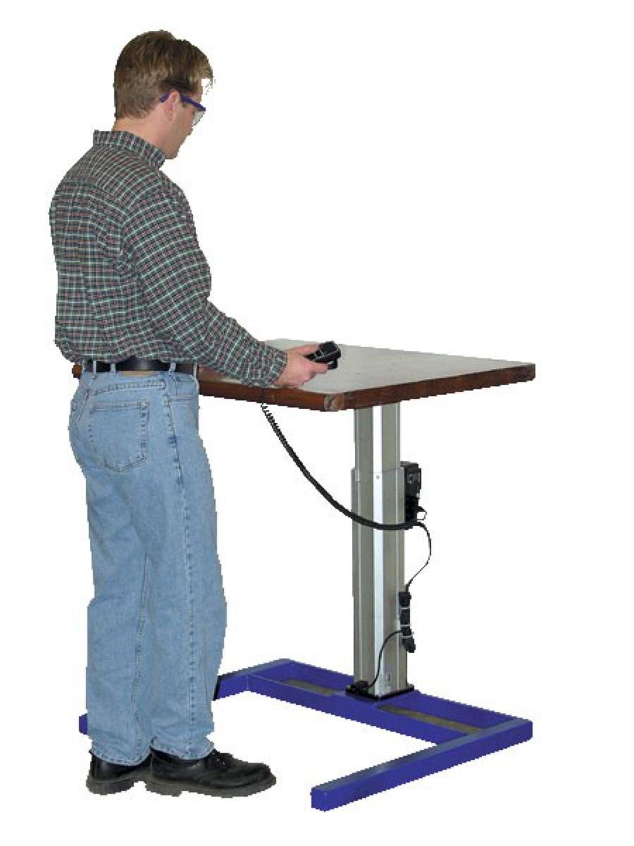 Industrial Desks Metal Desks Warehouse Desks - Standing height work table