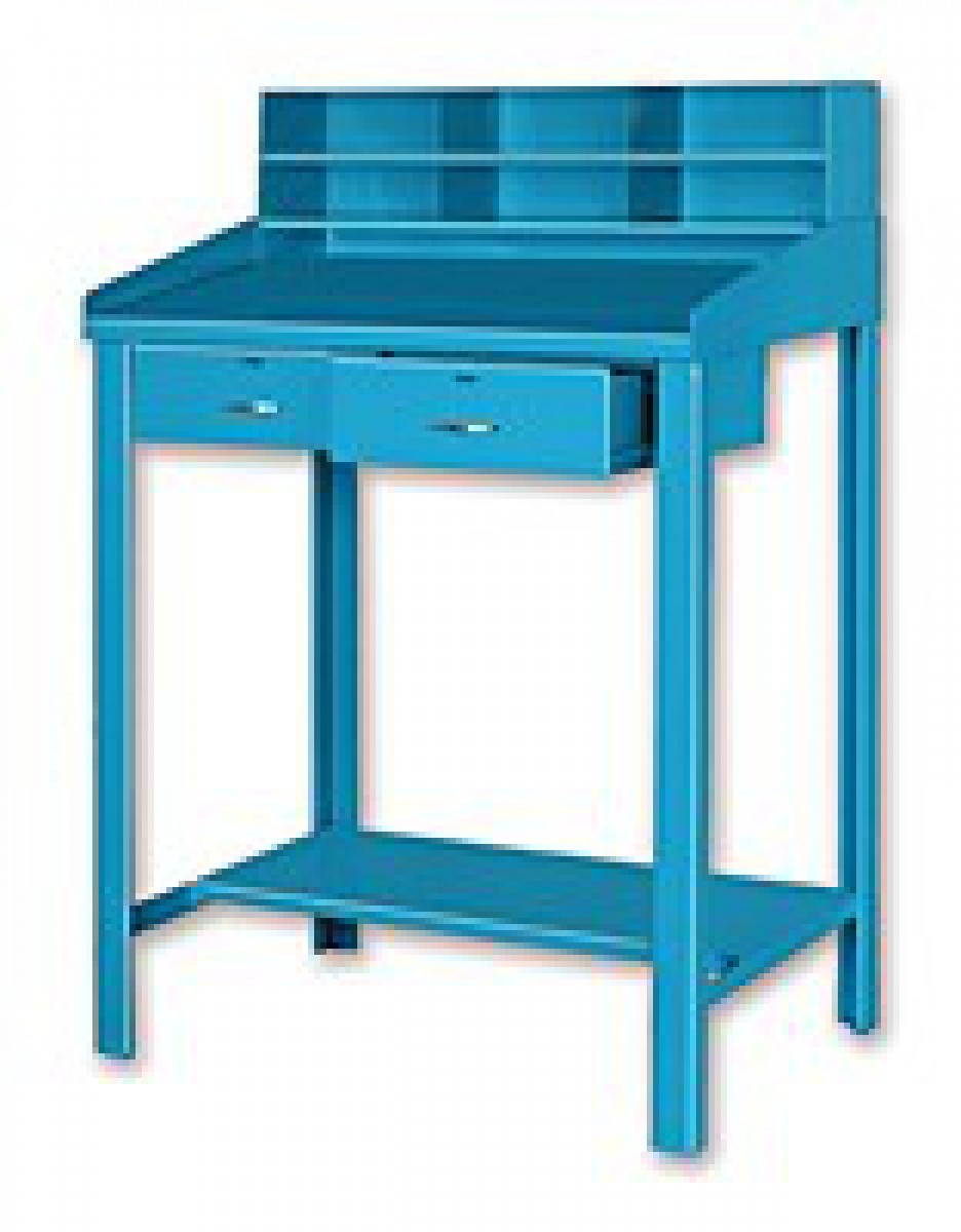 adjustable desk carlan height blvd fast shipping itm distressed pine harper ebay
