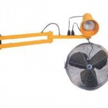 Dock Light with Fan