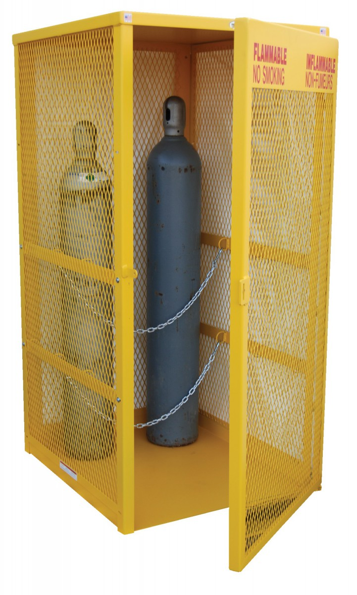 Gas Cylinder Handling Equipment Gas Cylinder Storage