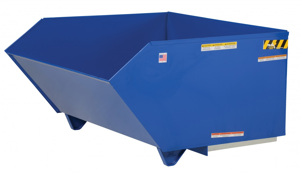 Ergonomic Waste Handling Carts Ergonomic Trash Carts