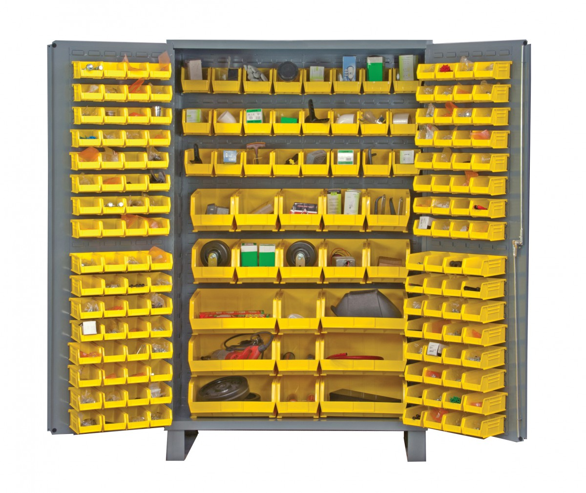 ... Industrial Lockers Metal Cabinet With Storage Bins ...