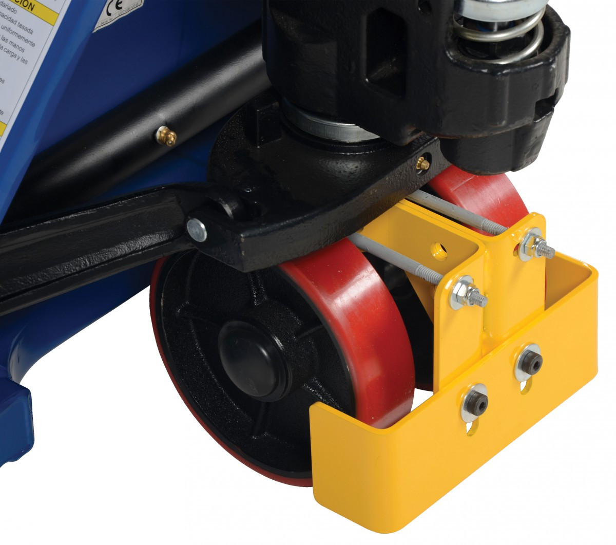 how to drive a electric pallet jack