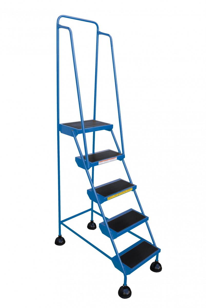 ... Portable Warehouse Stairs, Rolling Ladder ...