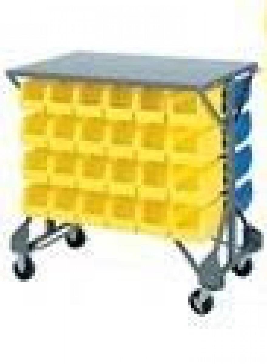Bin Carts Carts With Bins Steel Carts With Bins