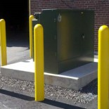 Steel Bollards and Covers