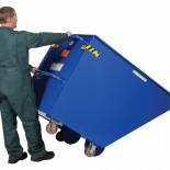 Tilt Trash Cart
