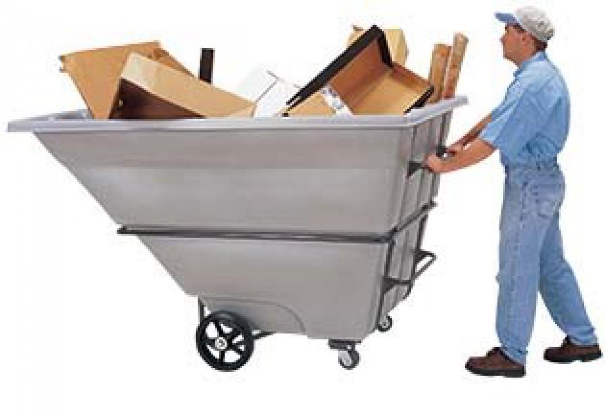 Tilt Trucks Tilt Carts Plastic Cube Carts Self Dumping