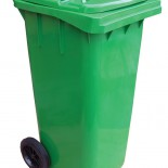Trash Recycle Bin with Wheels