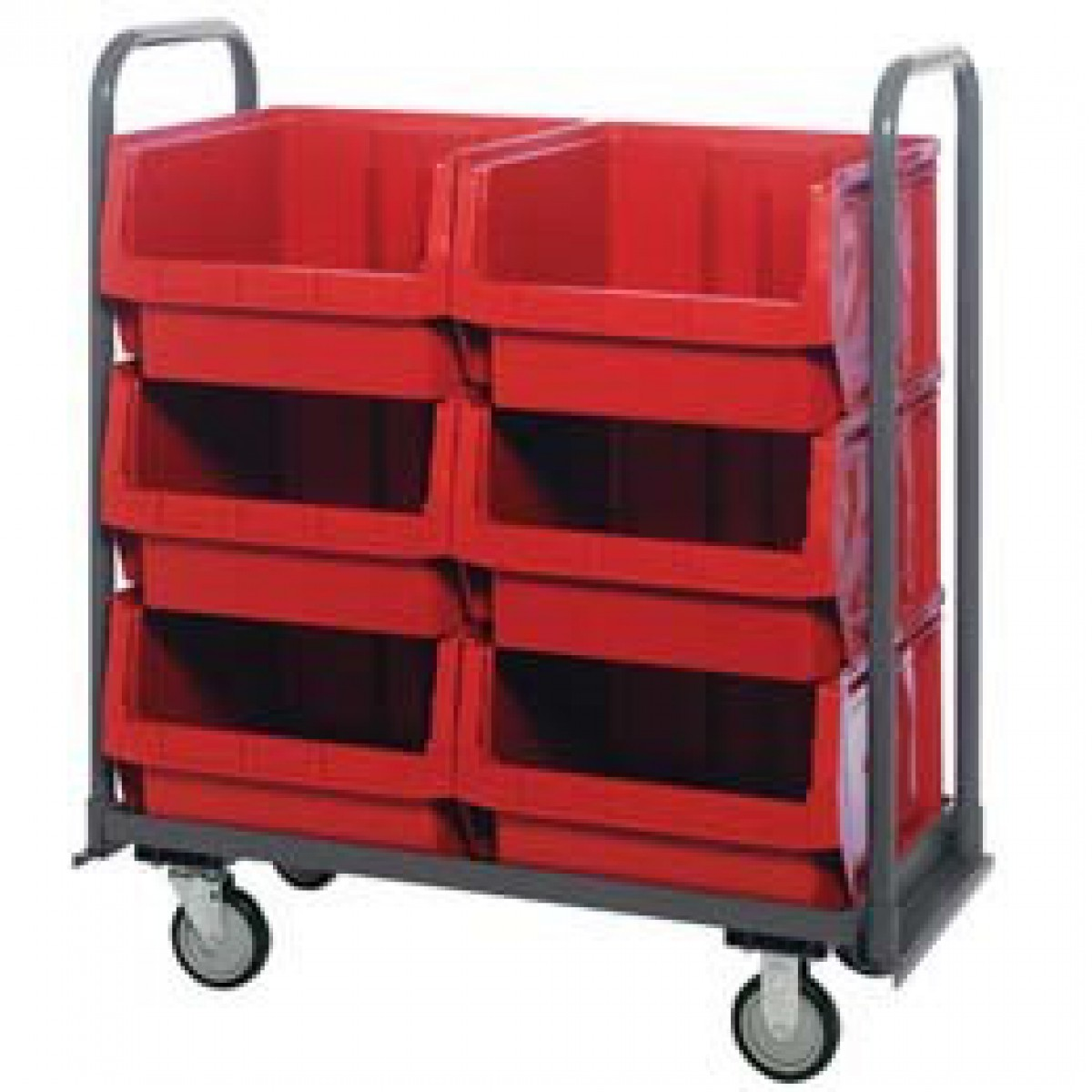 Metalbincartsingle Multisizebincart Shortbincart Uboatbincart Verticalbincarts Yellowbincart Plastic Storage Bins On Cart