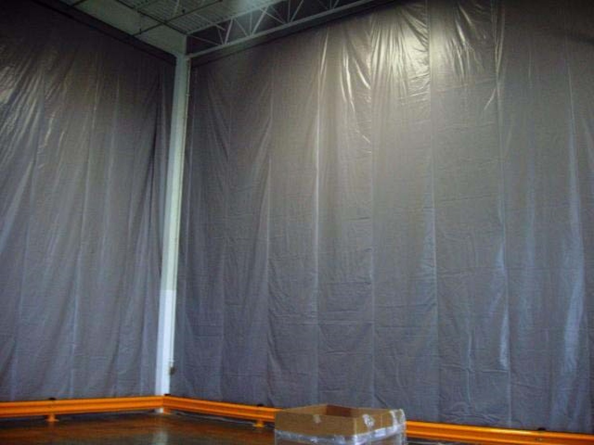 Warehouse Curtains Factory Partitions