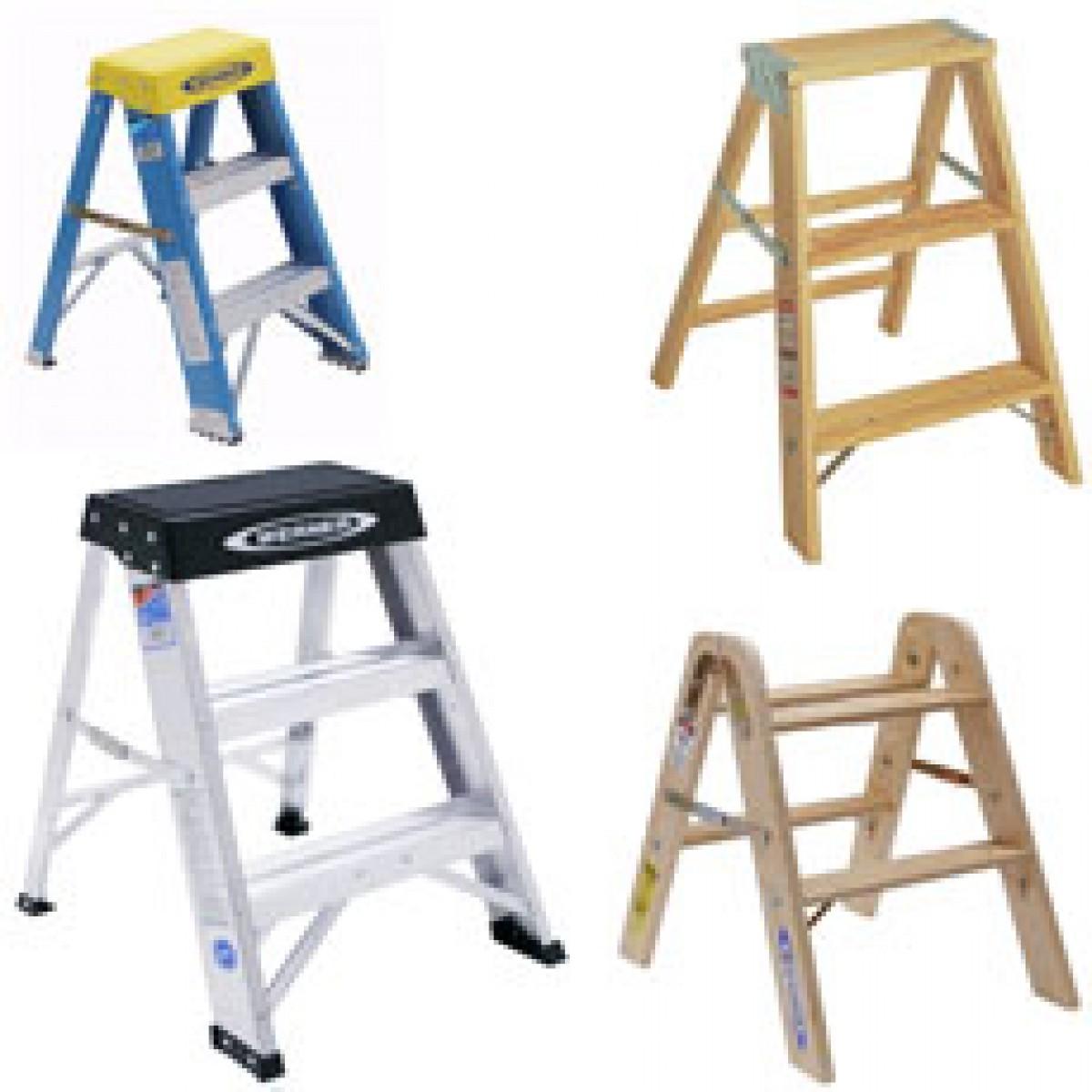 Ladders Step Ladders Extension Ladders Wood Fiberglass