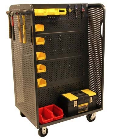 Build Your Own Plastic Bin Cart