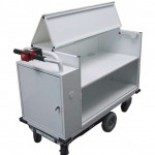 Battery Powered Medical Records Cart