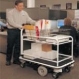 Power Mailroom Cart